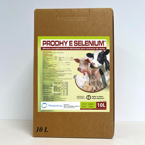 PRODHYCAL Solutions D Elevage Vannes Prodhycal Prodhy E Selenium 2